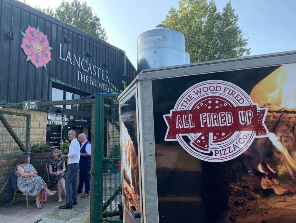 Mobile Pizza Van – Wedding Catering in Lancaster